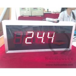 Tile body temperature meter with big displayer